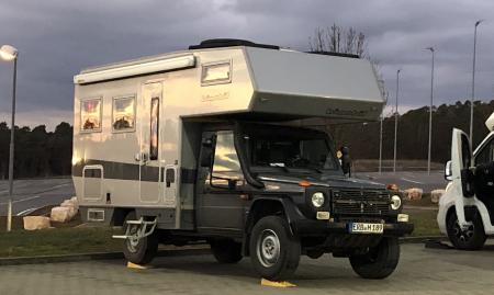 Mercedes G Camper